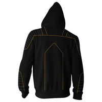 X-Men Wolverine Costume Superhero Halloween Unisex Zip Up Cosplay Hoodie