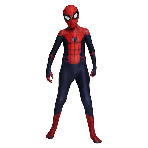 Kids Spider-Man: Far From Home Peter Parker Cosplay Costume Superhero Bodysuit Halloween Costume