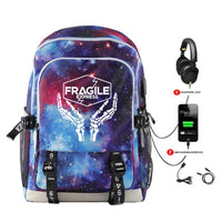 Death Stranding Backpack Schoolbag Printing Unisex USB Travel Bags