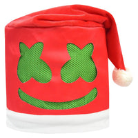 Christmas Santa DJ Marshmello Mask Music Festival Helmets Full Head Mask Cosplay Props