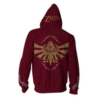 Unisex The Legend of Zelda Hoodies Streetwear Hip Hop Warm Sweatshirts Casual Cosplay Hoodie