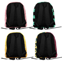 Demon Slayer: Kimetsu no Yaiba Anime Backpack Student School Bag Anime Fans Gift Travel Backpack Daypack