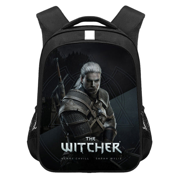 Kids The Witcher Lightweight Backpack Students Laptop Bag Boys Girls Back to School Gift