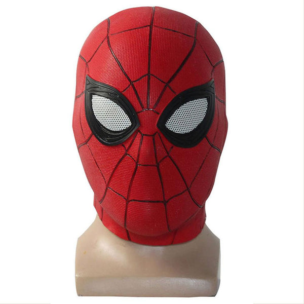 New Spider-Man Far From Home Latex Mask for Halloween Party Cosplay Props Short Ver.