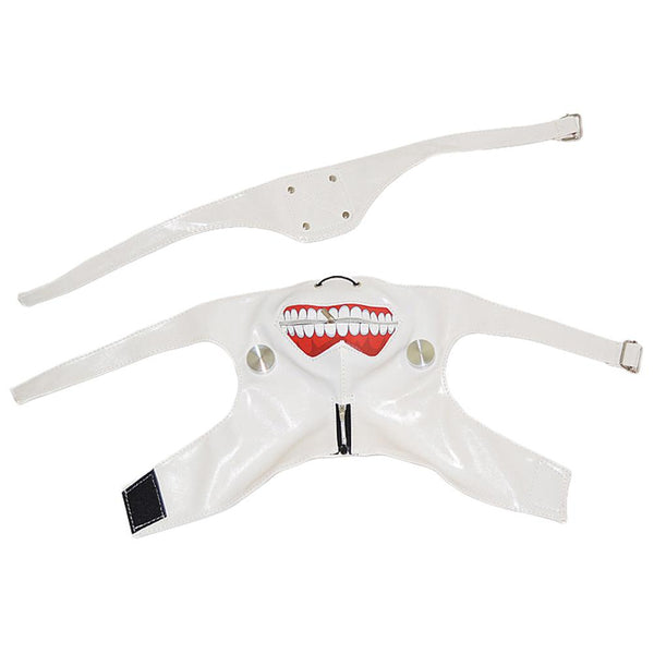 Tokyo Ghoul White Zipper Mask Party Cosplay Halloween Mask