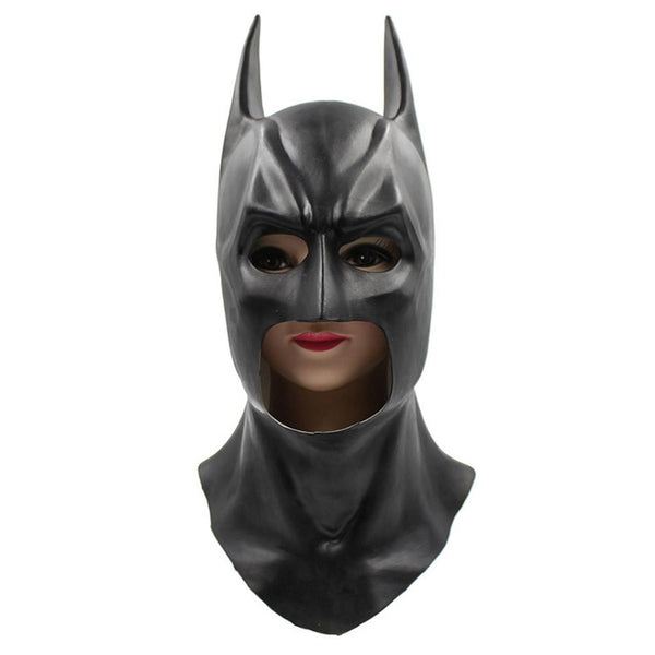 Batman The Dark Knight Rises Full Batman Latex Mask