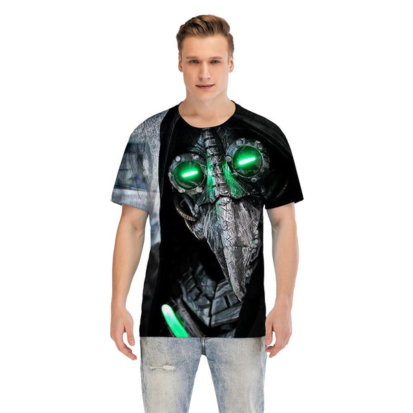 Unisex Plague Doctor T-shirt Men Women Summer O-neck T-shirt Casual Street 3D Print Shirts