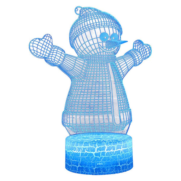 Snowman Lamp Decoration for Kids as Birthday Gifts for Kids