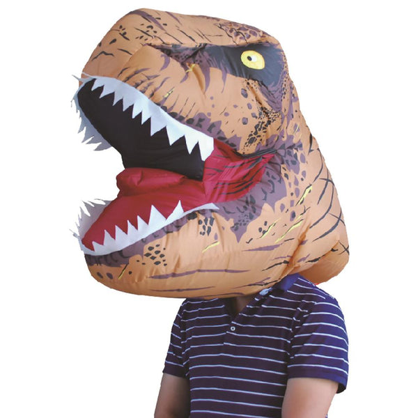 Jurasic World T-Rex Adult Inflatable Mask