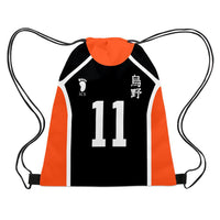 Anime Haikyuu!! Drawstring Bag Teenage Fashion Storage Bag Casual Travel Bag