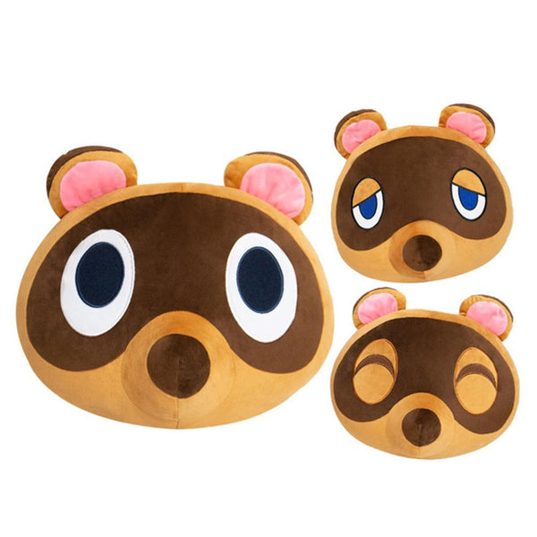 Animal Crossing Tom Nook Plush Pillow Game Character Plush Pillow Birthday Gifts Plush Decoration
