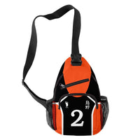 Anime Haikyuu!! Karasuno High School Casual Messenger Bag Chest Bag Cartoon Shoulder Bag