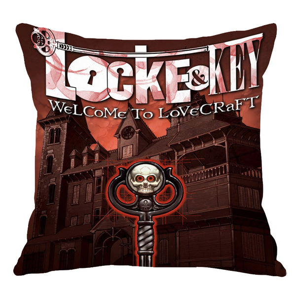 TV Series Locke & Key Home Throw Pillow Comfortable Indoor Use Cushion Pillows