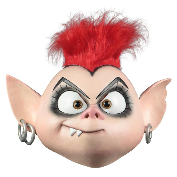 Trolls World Tour Cosplay Mask Queen Barb Punk Mask Latex Masquerade Party Mask Props