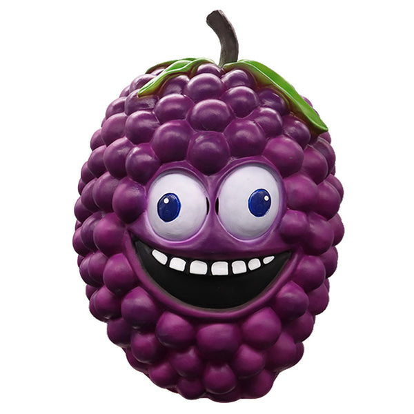 Latex Grape Mask Novelty Halloween Costume Party Latex Funny Mask Full Head Cosplay Mask