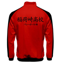 Anime Haikyuu!! Cosplay Jacket Inarizaki High School Volleyball Club Sportswear Costumes Coat