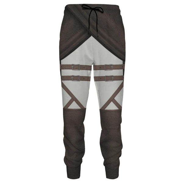 Unisex Sports Sweat Pants Straight Pants Anime Attack on Titan Sweatpants Jogging Long Pants