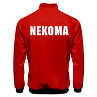 Anime Haikyuu!! Cosplay Jacket Nekoma High School Volleyball Club Sportswear Costumes Coat