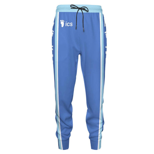 Unisex Sports Sweat Pants Straight Pants Anime Haikyuu!! Kamomedai Sweatpants Jogging Long Pants