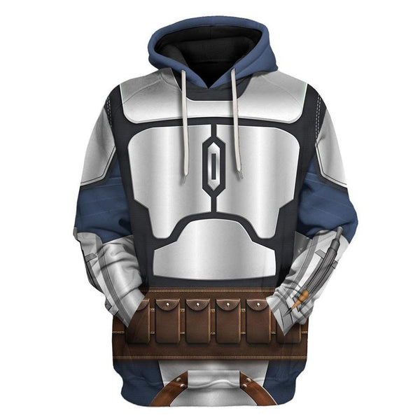 Unisex The Mandalorian Hoodies Streetwear Autumn Winter Coat Fashion Pullover Hoodie Sweatshirt