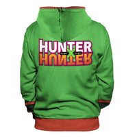 Unisex Anime HUNTER×HUNTER Hoodies Cosplay Pullover 3D Print Jacket Sweatshirt
