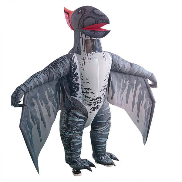 Inflatable Dinosaur Costume Pterosaur Fancy Dress Adult Halloween Suit