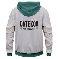 Unisex Haikyuu!! Cosplay Hoodies Datekou High School Uniform Hoodie Pullover Jacket Sweatshirt