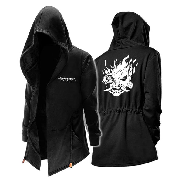 Unisex Cyberpunk 2077 Jacket Winter Windbreaker Jacket Sweatshirt Cosplay Costume