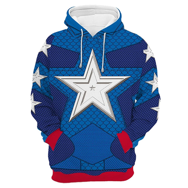 Unisex Courtney Whitmore Cosplay Hoodies Star Girl Pullover 3D Print Jacket Sweatshirt