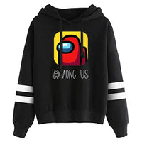 Unisex Among Us Hoodies 3D Print Pullover Sweatshirt Outfit Cosplay Casual Outerwear