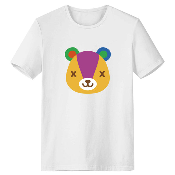 Unisex Animal Crossing T-shirt Stitches Printed Summer O-neck T-shirt Casual Street Shirts