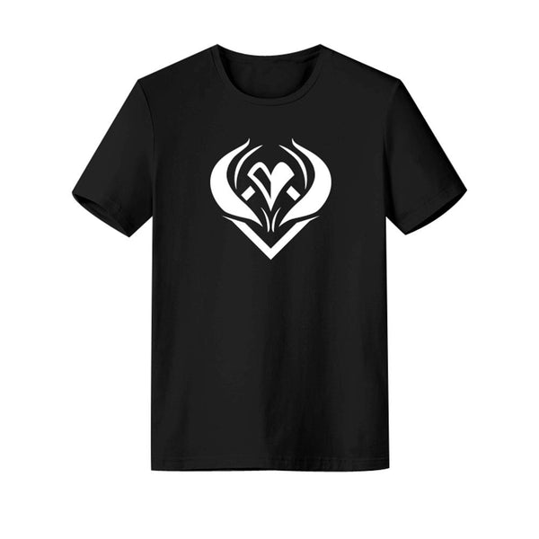 Unisex League of Legends T-shirt K/DA THE BADDEST Ahri Printed Summer O-neck T-shirt Casual Street Shirts
