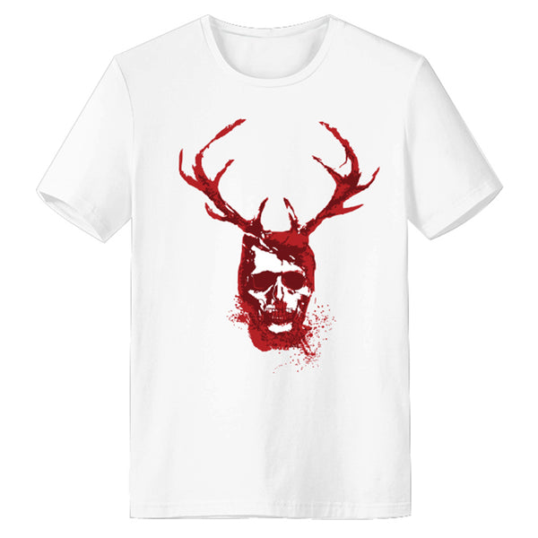 Unisex Hannibal T-shirt Men Women Summer O-neck T-shirt Casual Street 3D Print Shirts