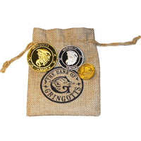 Harry Potter Gringotts Wizard Galleons Coin Purse