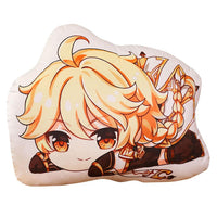 Game Genshin Impact Cosplay Plush Doll Pillow Stuffed Bed Cushion Cute Anime Pillow Project