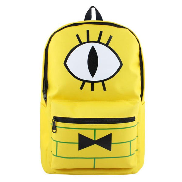 Gravity Bill Cipher Falls Kids Children School Backpack