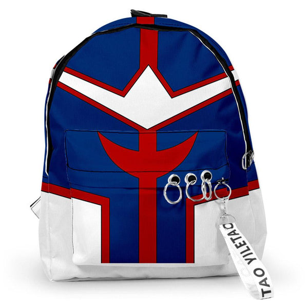 Anime My Hero Academia Cosplay Shoulders Backpack Student Large Capacity School Bag