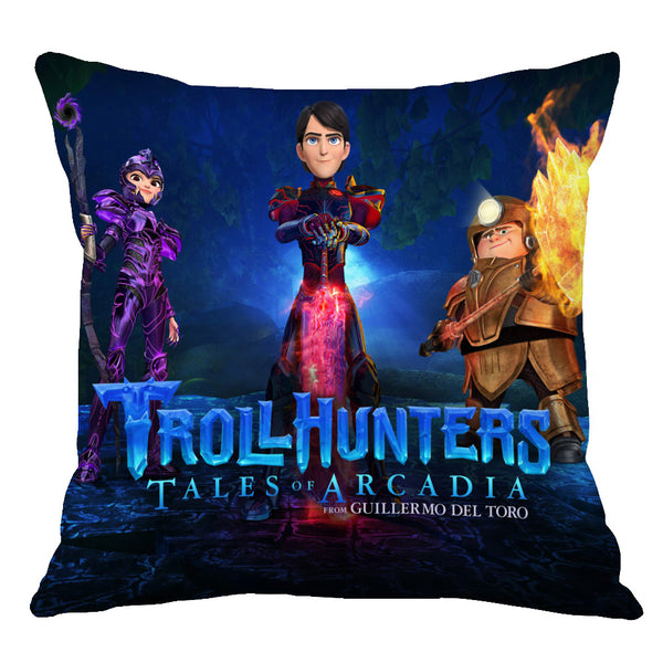 Trollhunters: Tales of Arcadia Home Throw Pillow Comfortable Indoor Use Cushion Pillows