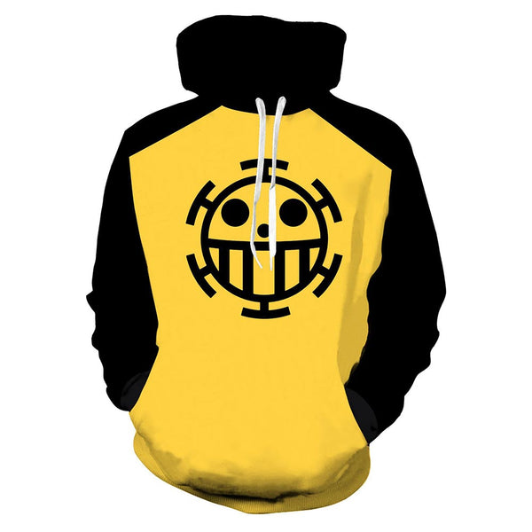 Unisex Anime ONE PIECE Hoodies Adult Cosplay Hooded Pullover Coat Casual Sweatshirts
