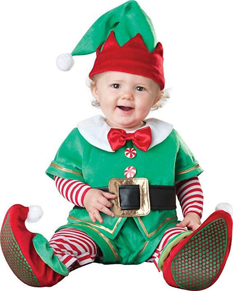 Santa's Little Elf Baby Costume Christmas Dressing Up