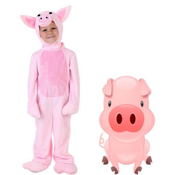 Adult/kids Deluxe Pig Costume