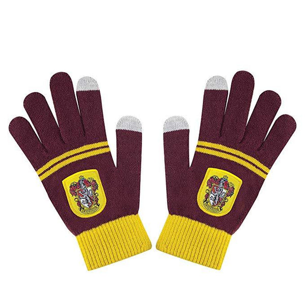 Harry Potter Slytherin Gryffindor Hufflepuff Ravenclaw Touch Screen Gloves