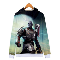Unisex Destiny 2 Hoodies Long Sleeve Autumn Winter Sweatshirts Zip Up Clothes Fashion Tops