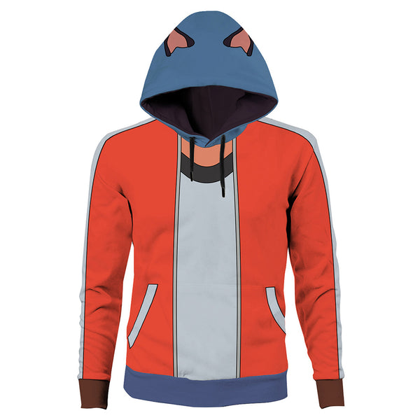 Unisex Kagemori Michiru Cosplay Hoodies BNA: Brand New Animal Pullover 3D Print Jacket Sweatshirt