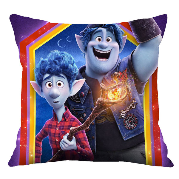 Movie Onward Home Throw Pillow Comfortable Indoor Use Cushion Pillows