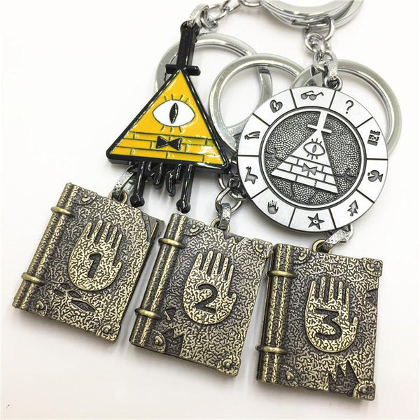 Gravity Falls3 Merchandise Bill Notebook Keychain Kids Gift