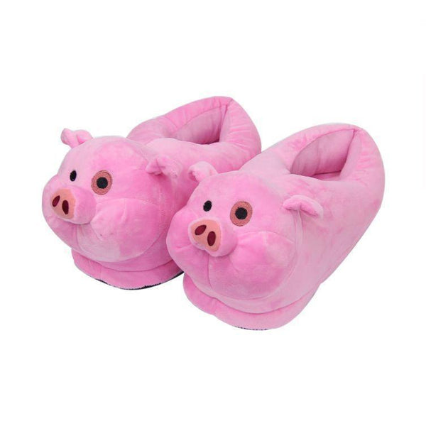 Gravity Falls Waddles Plush Slippers