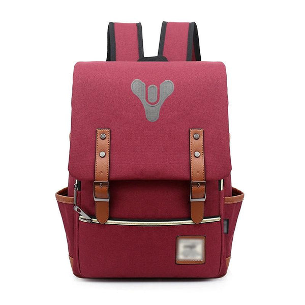 Game Destiny 2 Cosplay Shoulders Backpack Student Large Capacity School Bag