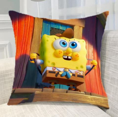 The SpongeBob Movie: Sponge on the Run Home Throw Pillow Comfortable Indoor Use Cushion Pillows