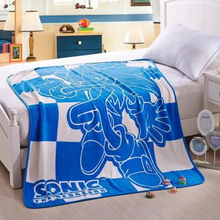 Sonic the Hedgehog Blanket Game Warm Casual Thick Napping Throw Blankets